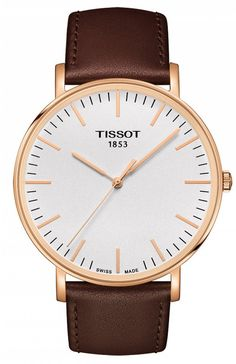 @tissot Watch Everytime #add-content #basel-16 #bezel-fixed #bracelet-strap-leather #brand-tissot #case-depth-6-45mm #case-material-rose-gold #case-width-42mm #delivery-timescale-1-2-weeks #dial-colour-silver #gender-mens #luxury #movement-quartz-battery #new-product-yes #official-stockist-for-tissot-watches #packaging-tissot-watch-packaging #style-dress #subcat-t-classic #supplier-model-no-t1096103603100 #warranty-tissot-official-2-year-guarantee #water-resistant-30m