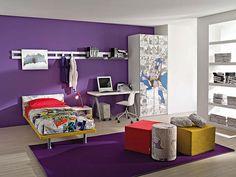 purple wall!!!