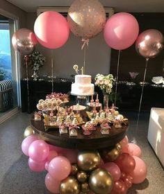 37 Gorgeous Easy and On Budget Party Decoration Looks Luxury - Decor Life Style Balloon Decorations, Birthday Party Decorations, Birthday Parties, Birthday Table, Happy Birthday, Girl Shower, Birthday Balloons, Shower Party, Events