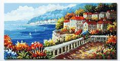 "Amazon.com: DiyOilPaintings Sunshine Holiday Paint By Number Kits, 23.62""x47.24"" Paint By Number Kits: Arts, Crafts & Sewing"