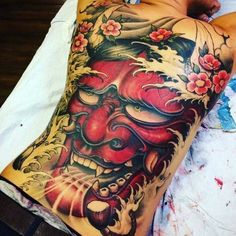 Sexy Tattoos, Body Art Tattoos, Sleeve Tattoos, Tattoos For Guys, Tattoo Artwork, Tattoo Drawings, Hannya Mask Tattoo, Yakuza Tattoo, Tattoo Oriental