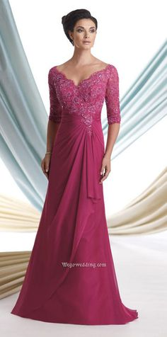 mother of the bride dress but in royal blue