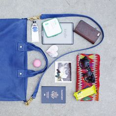 CLARE VIVIER traveling essentials in style :)