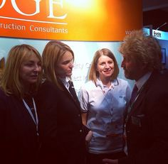 The Ridge stand at CIH Brighton with some of the Gunite Ladies