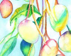 Kauai Hibiscus Original Watercolor Painting by kauaiartist on Etsy
