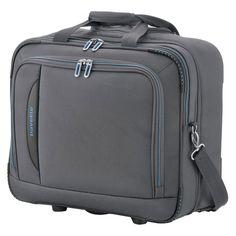 #Businesswheeler travelite CrossLITE bei Koffermarkt: ✓2 Rollen ✓Tablet- & Laptopfach ✓Pilotenkoffer  ✓leicht ✓anthrazit