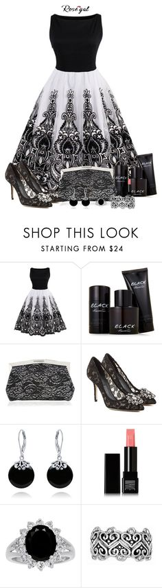 """""""Tulle Dresses - Rosegal Contest!!!"""" by sarahguo ❤ liked on Polyvore featuring Kenneth Cole, Nina, Dolce&Gabbana, Bling Jewelry and Make"""