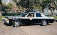 The first patrol car I ever drove, was a old NCSHP 1991 Ford LTD Crown Vic, the only car the town owned! Pretty but couldn't hardly keep up with a Pinto.