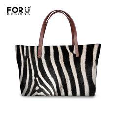 Retro Striped Leopard Print Top-handle Bags for Women Brand Designer Handbags High Quality Lady Totes Bolsos femme de marque