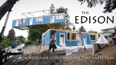 The Edison is a time-lapse film that documents the modular construction process of the recently completed Edison Apartments in the St. Johns neighborhood of Portland, Oregon. The film features commentary by modular builder Nathan Young of MODS PDX and original music by Travis Forencich. The film was shot and produced by Sam Forencich.  MODS PDX…