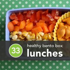 33 Healthy Bento Box Lunches