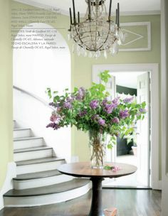 Benjamin Moore's Color of the Year for 2015. It's called Guilford Green (or HC-116 if you want to get fancy about it) and it's the centerpiece of Benjamin Moore's entire color trend story for the year ahead.