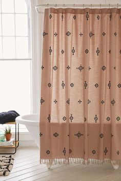 Urban Outfitters 4040 Locust Toures Shower Curtain