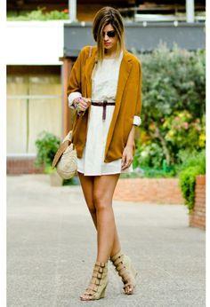 Combinacion de colores para este verano!! <3  27 Trendy Street Style Trendy Combinations for the Summer