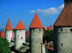 сторожевые башни старого города