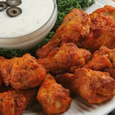 A Flavorful recipe for baked spicy buffalo drumsticks, Served with a yummy blue cheese dip.. Baked Spicy Buffalo Drumsticks Recipe from Grandmothers Kitchen.