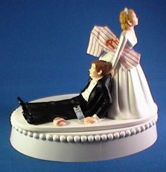 Grooms Cake topper Perfect for us!!
