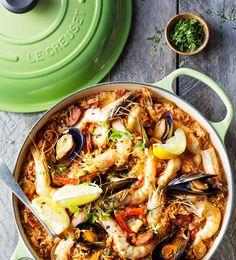 Seafood Paella - Le Creuset Recipes