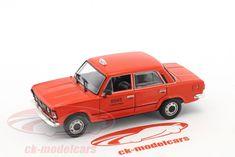 CK-Modelcars - CK43193: Fiat 125P такси красный 1:43 Altaya