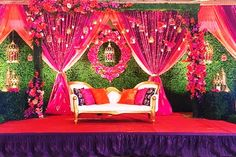 Top 24 Most Dazzling Wedding Stage Decoration That You Haven't Seen wedding stage Top 24 Most Dazzling Wedding Stage Decoration That You Haven't Seen Wedding Stage Decorations, Wedding Stage Backdrop, Desi Wedding Decor, Wedding Stage Design, Marriage Decoration, Engagement Decorations, Indian Wedding Stage, Ceremony Backdrop, Red Wedding