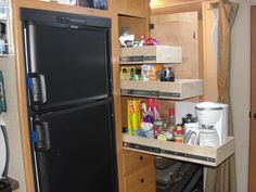 """DIY installation of pantry slides.  This has been """"requested"""" by SWMBO."""