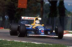 Nigel Mansell, Williams-Renault FW14B, Imola, 1992