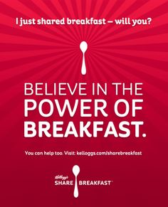 I just shared breakfast - will you? #sharebreakfast