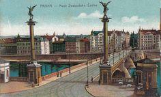 Postkarte Prag Praha Most Svatopluka Cecha UM 1910 | eBay