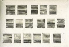Gerhard Richter » Art » Drawings » 17 Seascapes » 69/2