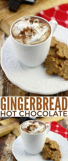 Hot Chocolate and Gingerbread are two treats that seem synonymous with winter. This recipe brings the two together in one seriously delicious treat that melds hot chocolate with all the flavours of gingerbread.