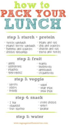 27 School Lunch Tips That Will Keep You Sane fitspo health thinspo fitness healthy living healthy weight loss healthy eating healthy recipes healthy food healthy cooking flat belly Get Healthy, Healthy Tips, Healthy Choices, Healthy Snacks, Eating Healthy, Healthy Cooking, Cooking Tips, Healthy Lunch To Go, Food Tips
