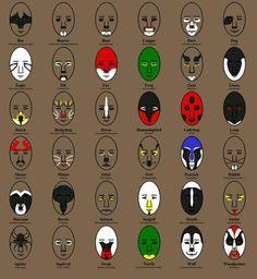 Animal Face Paints