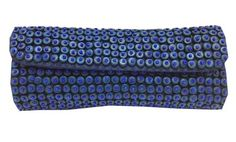 Go with style! carrying this beautifully beaded clutch that is unique and 'standoutish' . Definitely cute and will look great - coved with coco wooden beads and glass beads sewn on a strong nylon cloth the clutch is  fully lined with a magnet catch and easy to carry. Comes in 6 stunning colours to suit all occasions.