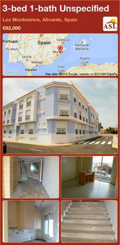 3-bed 1-bath Unspecified in Los Montesinos, Alicante, Spain ►€82,000 #PropertyForSaleInSpain