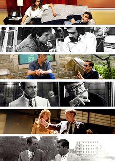 Directors and their muses (1): Joe Wright and Keira Knightley (3 movies) ; Martin Scorsese and Robert De Niro (9 movies) ; David Fincher and Brad Pitt (3 movies) ; Billy Wilder and Jack Lemmon (7 movies) ; Quentin Tarantino and Uma Thruman (3 movies) ; Akira Kurosawa and Toshiro Mifune (16 movies)