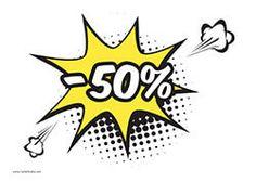 50% Descuento #Rebajas #Oferta #Descuentos Art Pop, Farmasi Cosmetics, 1980s Fashion Trends, Comic Art, Comic Books, Pop Art Women, Pop Bubble, Banners, Short Comics
