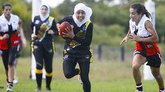 Meet the Auburn Tigers, Australia's first all Muslim Woman Football Team