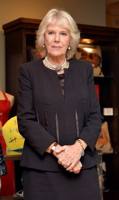 Camilla Parker Bowles Photos: The Fine Cell Work Pop-Up Shop Opening