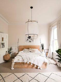 Room Ideas Bedroom, Home Decor Bedroom, Bedroom Inspo, Design Bedroom, Room Decor Boho, Boho Teen Bedroom, Bedroom Inspiration Cozy, Simple Bedroom Decor, Bohemian Room