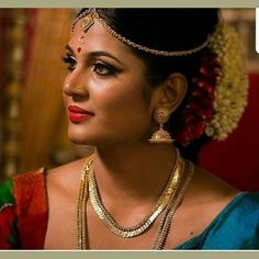 34 Best Bridal Hairstyle Images Kerala Bride South Indian