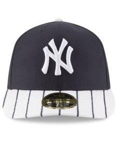 bcb53896d2a New Era New York Yankees Batting Practice Diamond Era Low Profile 59FIFTY  Cap - Navy