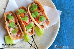 Hamachi Tacoat Baba IKI, Sri panwa Phuket  #photooftheday #Phuketindex #Phuket #Thailand #SripanwaPhuket #BabaIKI #HamachiTaco#seafood #JapaneseRestaurant #JapaneseFood #gourmet #instafood #sushi #tuna #salmon