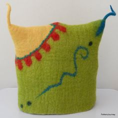 Felted Teacosy - Teapot Cosy