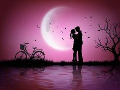 - Millions of Creative Stock Photos, Vectors, Videos and Music Files For Your Inspiration and Projects. Cartoon Silhouette, Couple Silhouette, Silhouette Painting, Love Couple Wallpaper, Love Wallpaper Backgrounds, Love Wallpapers Romantic, Beautiful Nature Wallpaper, Cute Love Pictures, Romantic Pictures