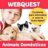 Código 542 Webquest - Animais Domésticos