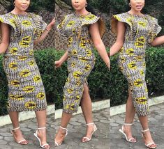 African dress/African clothing for women/Ankara dress/African print dress/African fabric dress/African Clothing/dress/Women's Clothing Latest African Fashion Dresses, African Print Dresses, African Print Fashion, Africa Fashion, African Dress, Ankara Dress, Ankara Blouse, Ankara Fashion, African Prints