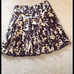 Satin skirt Beige& brown satin fabric Skirts