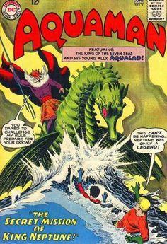 Series search for dc comics aquaman vol 1 Online Comic Books, Dc Comic Books, Comic Book Covers, Comic Book Characters, Comic Character, Comic Art, Dc Comics, Aquaman Comics, Silver Age Comics