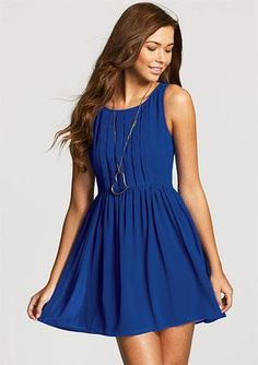 I love this dress in this color...it's perfect.