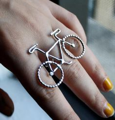 Le Petit Bike Ring By Rachel Pfeffer